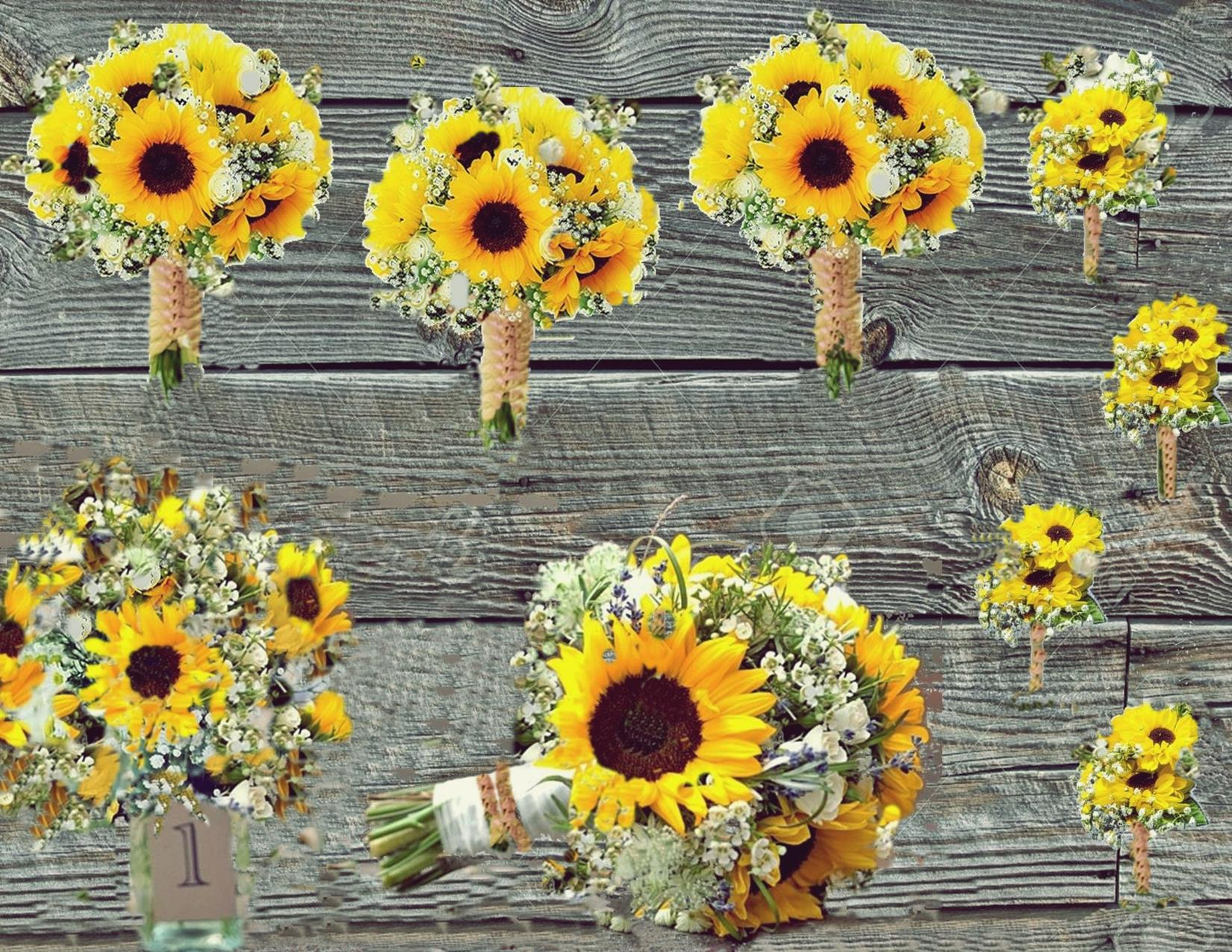 Sunflower wedding edited