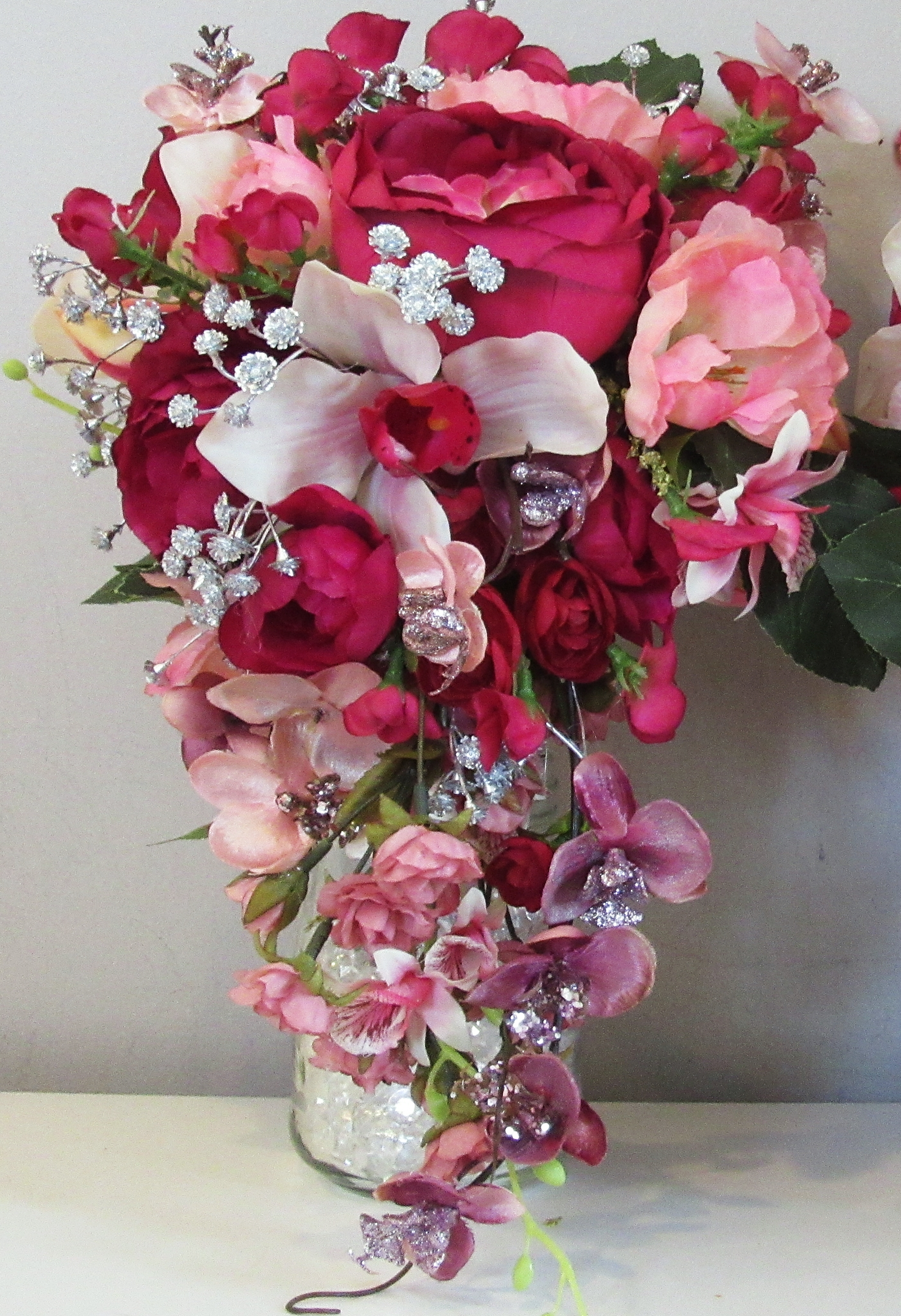 Front view of Dynasty's bouquet - Copy