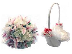 Ashley Opito Weding - Bridesmaid and flower girl wedding flowers