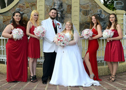 Nice pic of girls and bride and groom