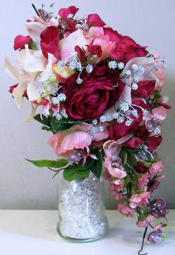 Side View of Dynasty's bouquet