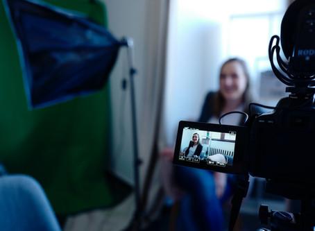 L'interview vidéo : ode aux visages des mots