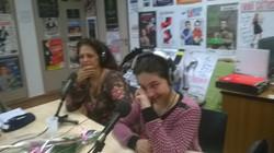 Dans les locaux d'Osmose Radio