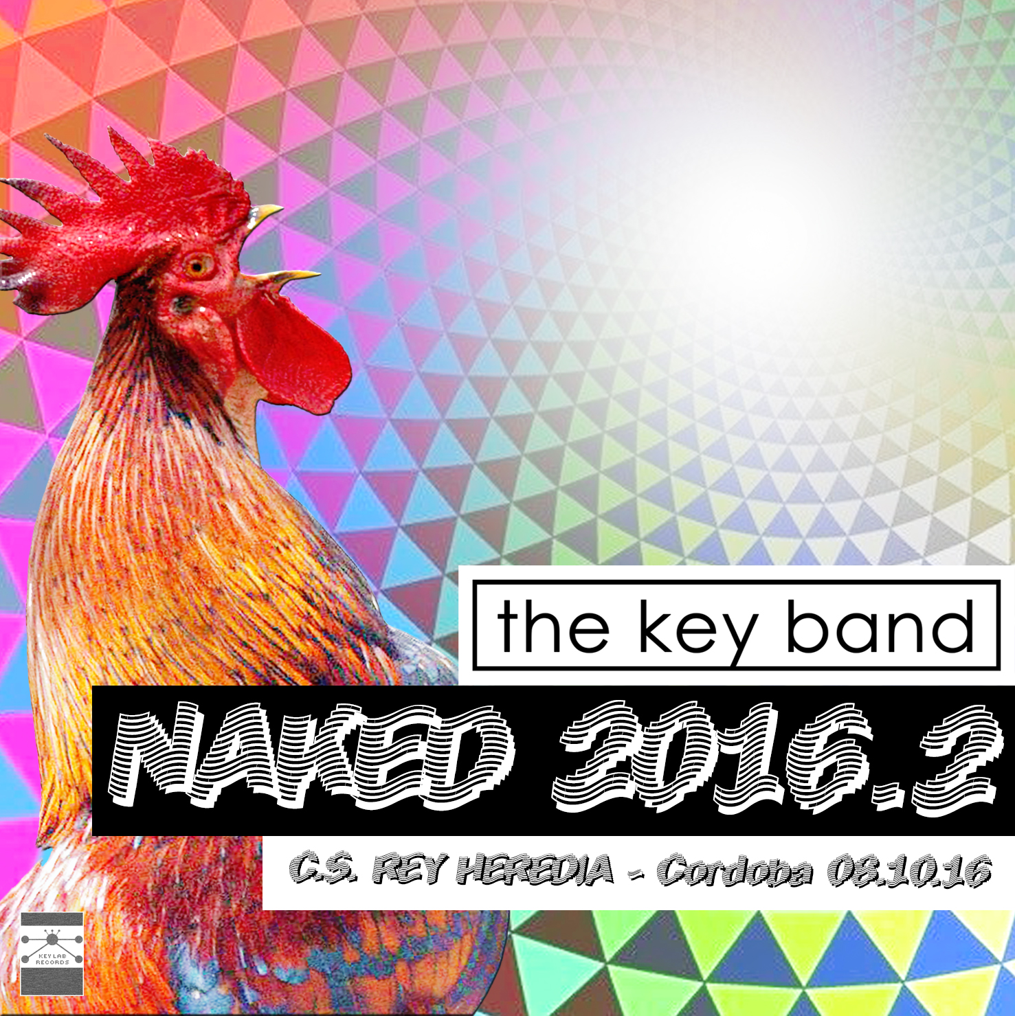 THE KEY BAND - NAKED 2016 CD