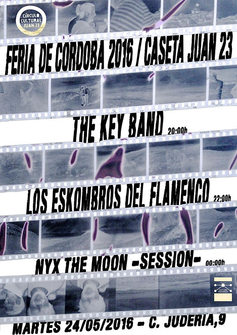 THE KEY BAND CONCIERTO FERIA CORDOBA 2016 JUAN 23