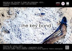 THE KEY BAND - DISEÑO CARTEL