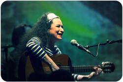 Vendégünk: Nyeső Mari-gitár.ének