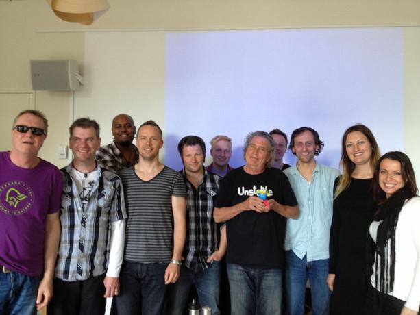 Guru Pat Pattison course, Oslo