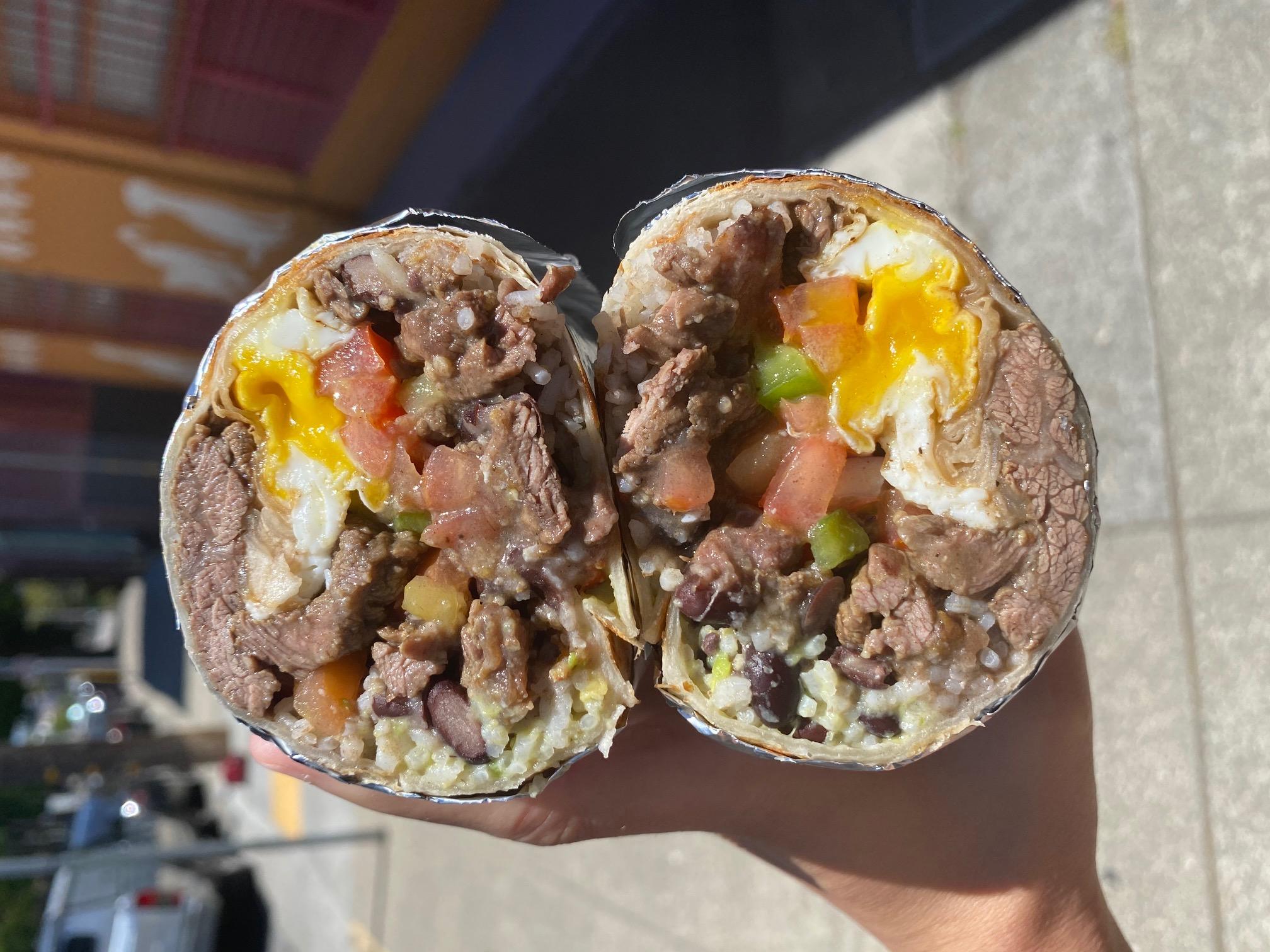 Brazurrito Steak