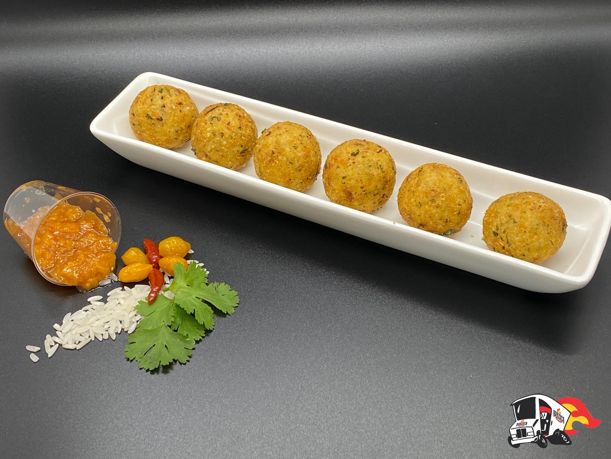 Brazuca's Parmesan Rice Bites