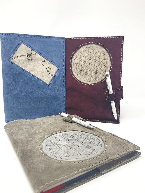 Notizbuch mit Lederhülle A5