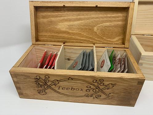 Teebeutel Holzbox