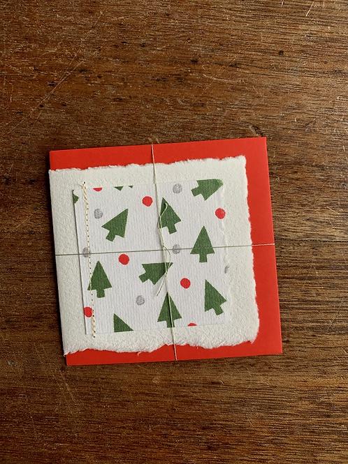Small Gift Card - Christmas Trees III