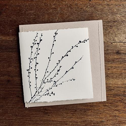 Gift Card - Nature series -   Acacia Budding