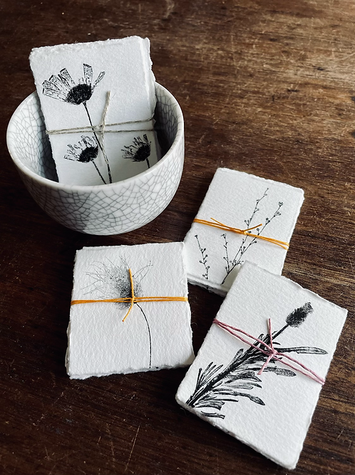 Small Gift Tags - Nature Series - Pack of 6