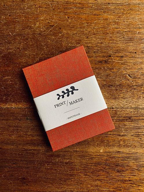 Sketchbook - Speckled Red