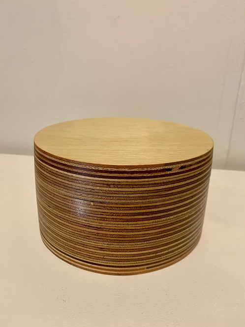 Box with a Twist - Round - Large