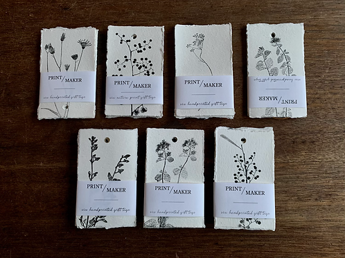 Gift Tags - Nature Series - Pack of 6