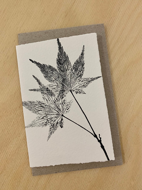 Small Gift Card - Nature series -  Maple II