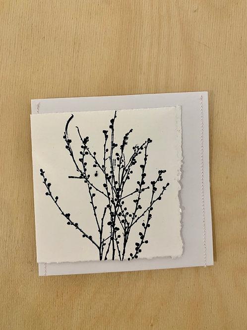 Gift Card - Nature series -  Acacia Buds II