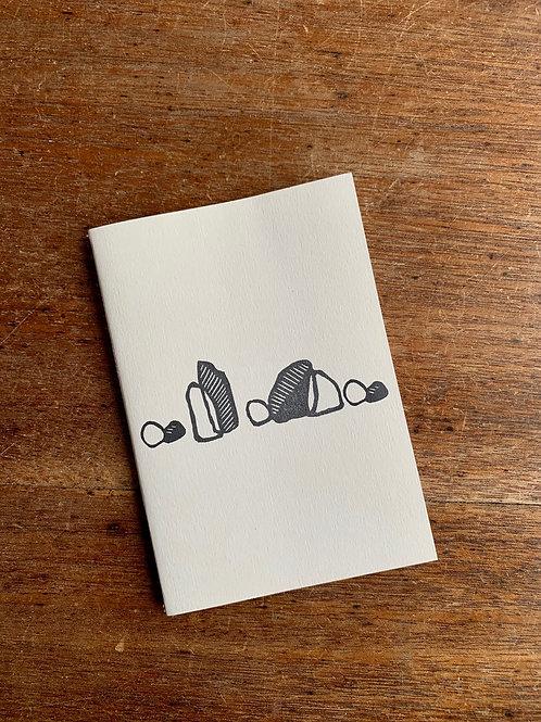 A6 Notebook - Rocks