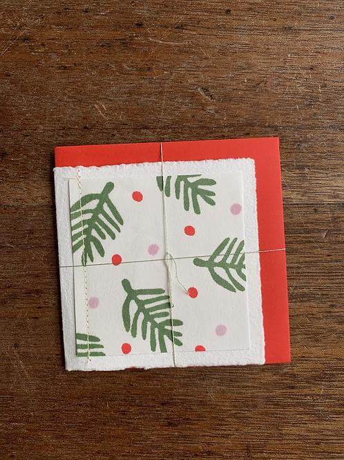 Small Gift Card - Christmas Trees II