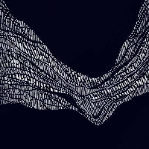 Stratigraphic - Linocut Print
