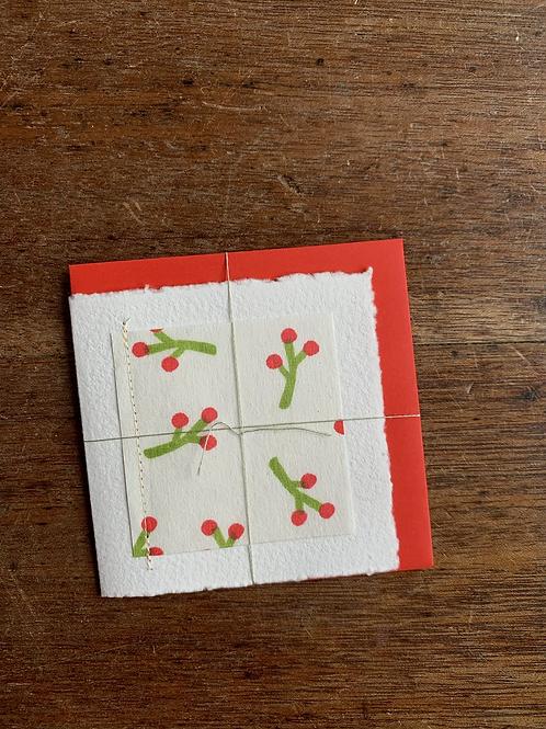 Small Gift Card - Christmas Buds II