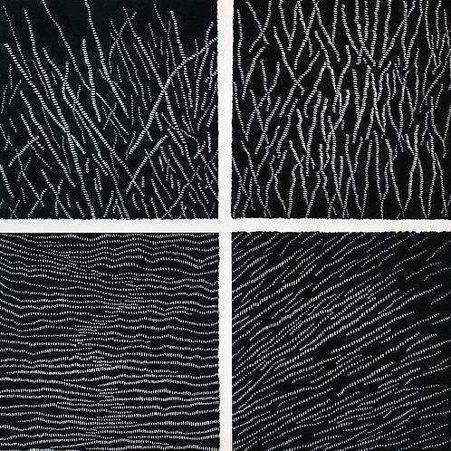 Glacial Impressions - Composite Linocut Print