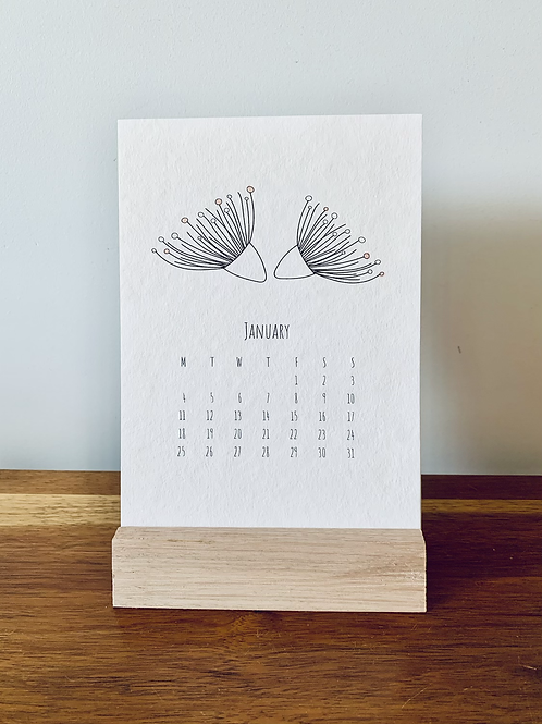 2021 Calendar - A6 size
