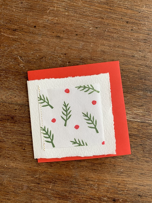 Small Gift Card - Christmas Trees