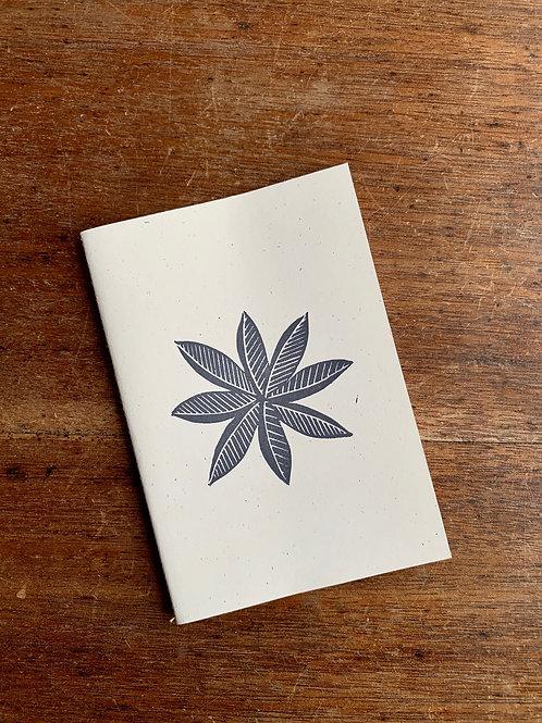 A6 Notebook - Flower