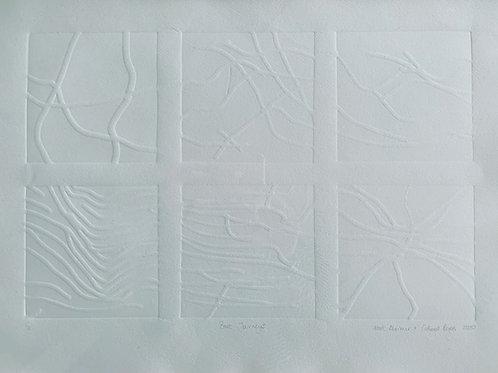 Bark Journeys - Emboss Print