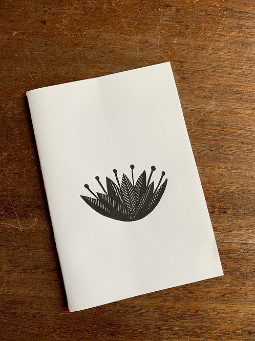 A5 Notebook - Lotus
