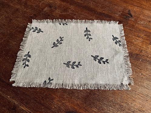 Table mat - Leaf