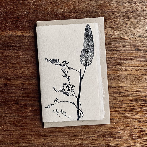 Small Gift Card - Nature series -  Happy Wanderer I