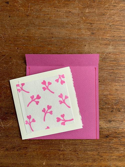 Gift Card - Heart Flower
