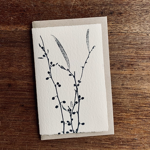Small Gift Card - Nature series -  Acacia Buds
