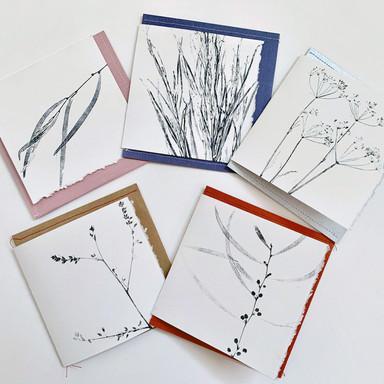 Cards - Garden series