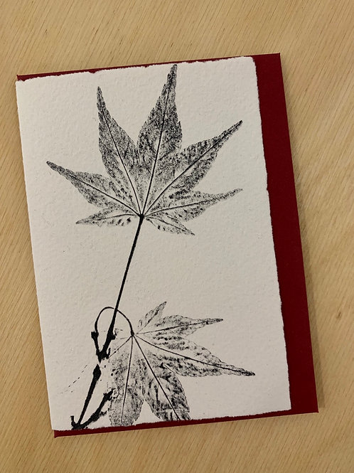 Small Gift Card - Nature series -  Maple I