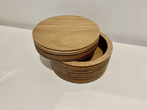 Box - With a Twist - Round - Small