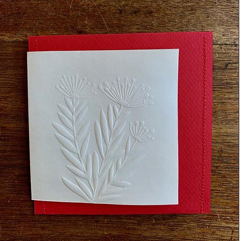 Embossed Gift Card - Spring
