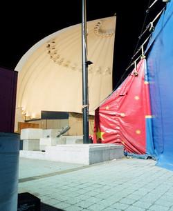 Guggenheim bandshell (Big Apple Circus)