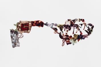 Decorative gun explosion #12 (Revolver)r
