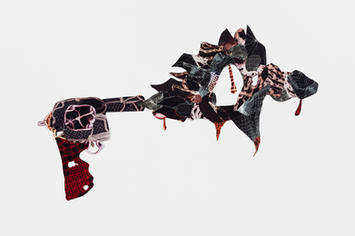 Decorative gun explosion #13 (Revolver)