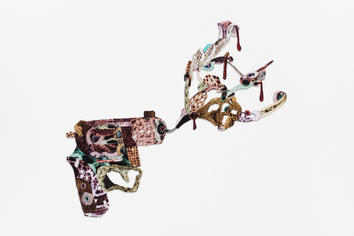 Decorative gun explosion #2