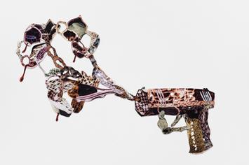 Decorative gun explosion #5