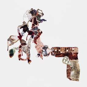Decorative gun explosion #7