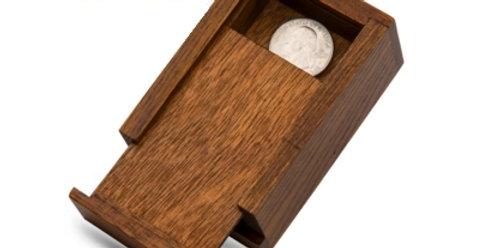 RATTLE BOX - NATURAL WOOD
