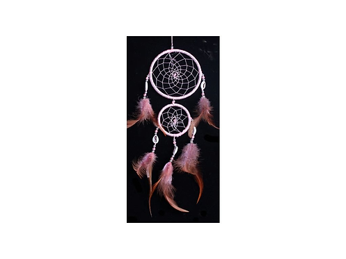 Lapač snů - malý růžový